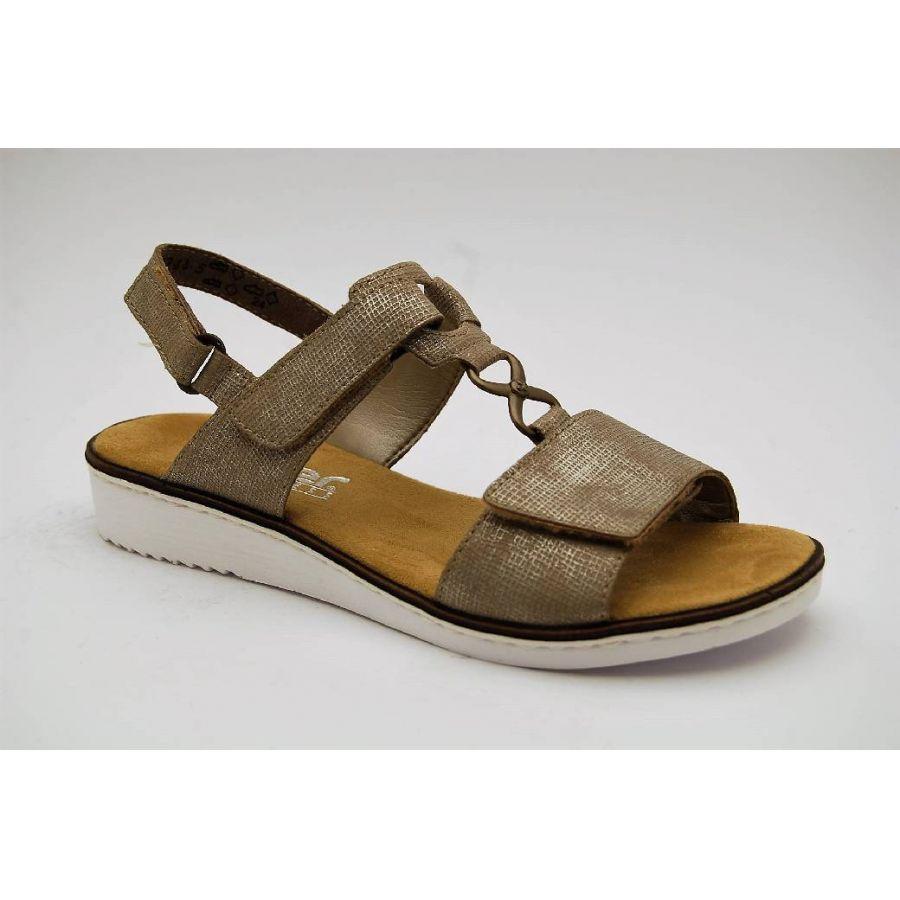 5b1c84d033c Anderbergs skor - RIEKER taupe sandal