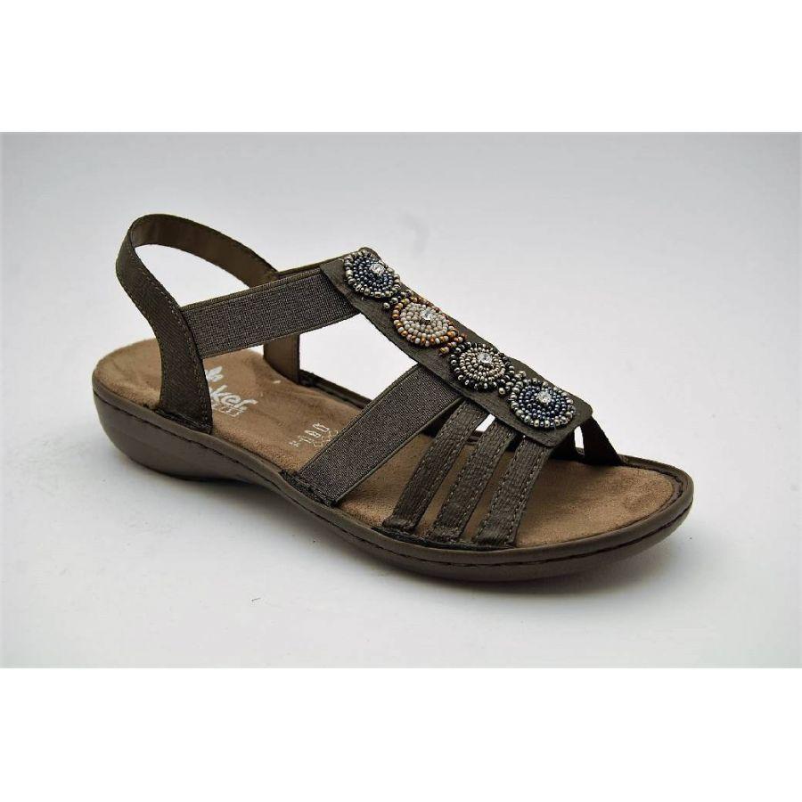 cab3ce3a7b3 Anderbergs skor - RIEKER grå sandal